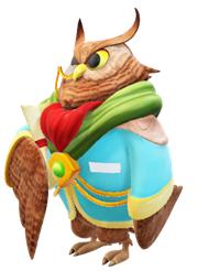 Owl In Jacket